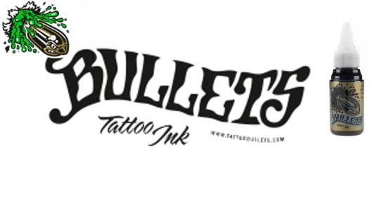 Bullets Tattoofarben