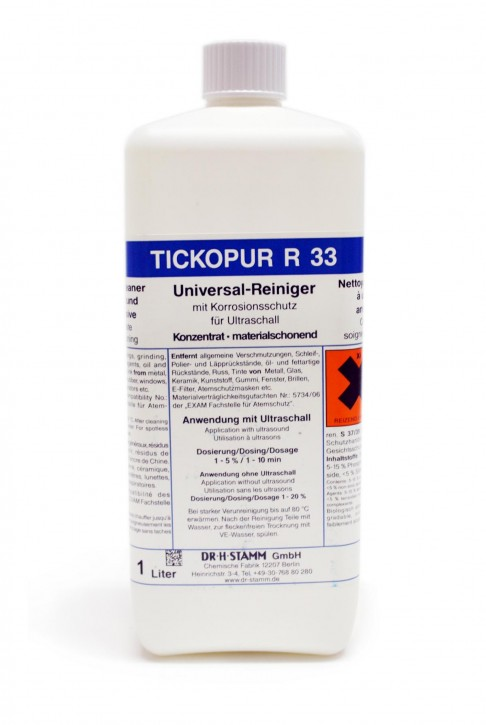 Tickopur R33 Reiniger