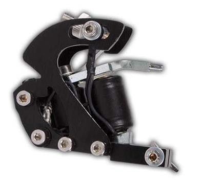 Oblique Traktor Tattoo Maschine Black Shader