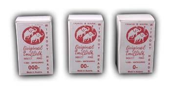 Elefant Nadeln 250 Stück Größe 00 - Bitte beachten: Staffelpreise siehe Details