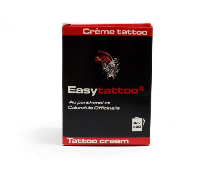 Easytattoo Cream Sachet Box mit 20 Beuteln