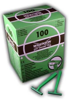 Einwegrasierer Wilkinson Grün