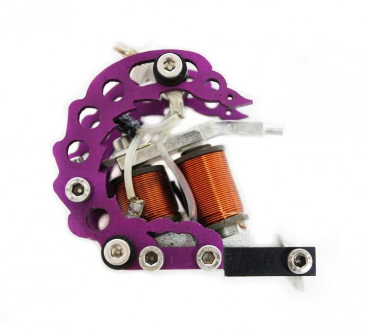 Oblique Traktor Tattoo Maschine Violet Shader