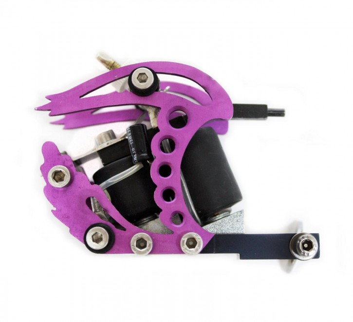 Oblique Traktor Tattoo Maschine Violet Liner