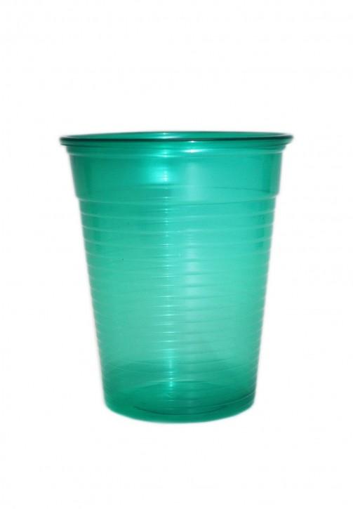 Plastikbecher 0.18 L dunkelgrün