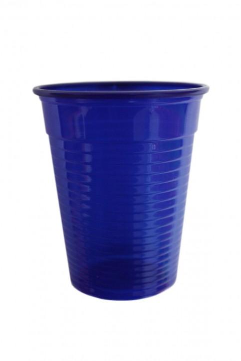 Plastikbecher 0.18 L dunkelblau