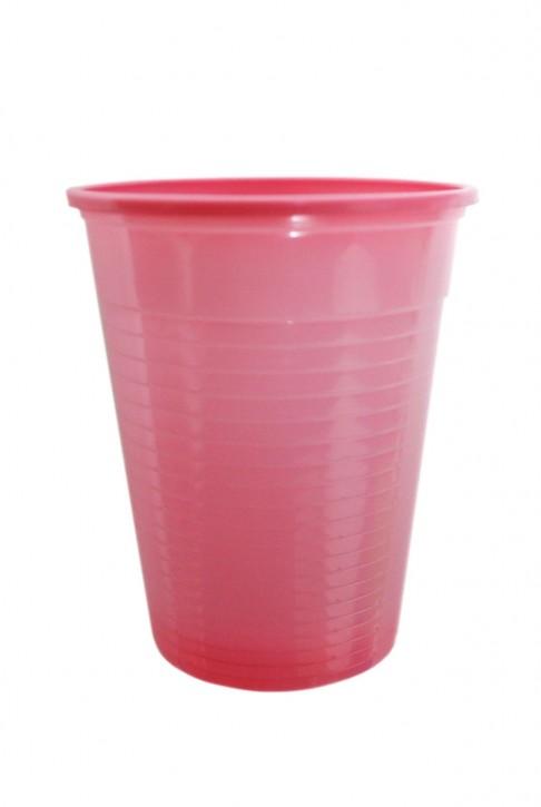 Plastikbecher 0.18 L rosa
