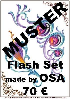 Flashset 1 Osa Wahn Österreich: Ornamente & Blumen