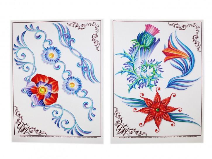 Flashset 3 Osa Wahn Österreich: Blumen