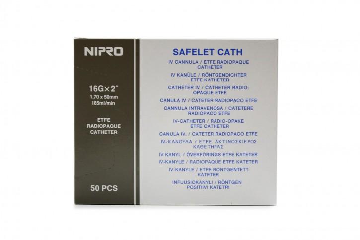 Nipro Kanülen, Grau 16G (1,75mm)