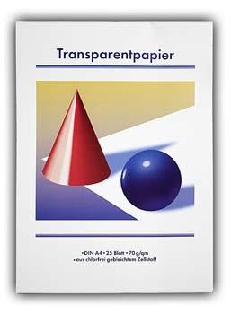 Transparent Papier 30 Blatt A4