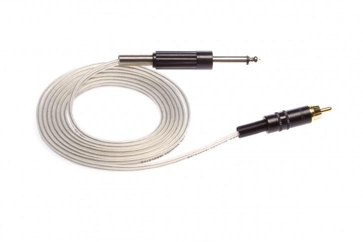 Eikon Chinch Cord RCA Klinke 183 cm - Clear