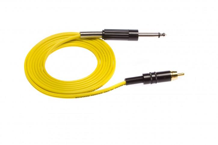 Eikon Chinch Cord RCA Klinke 183 cm - Gelb