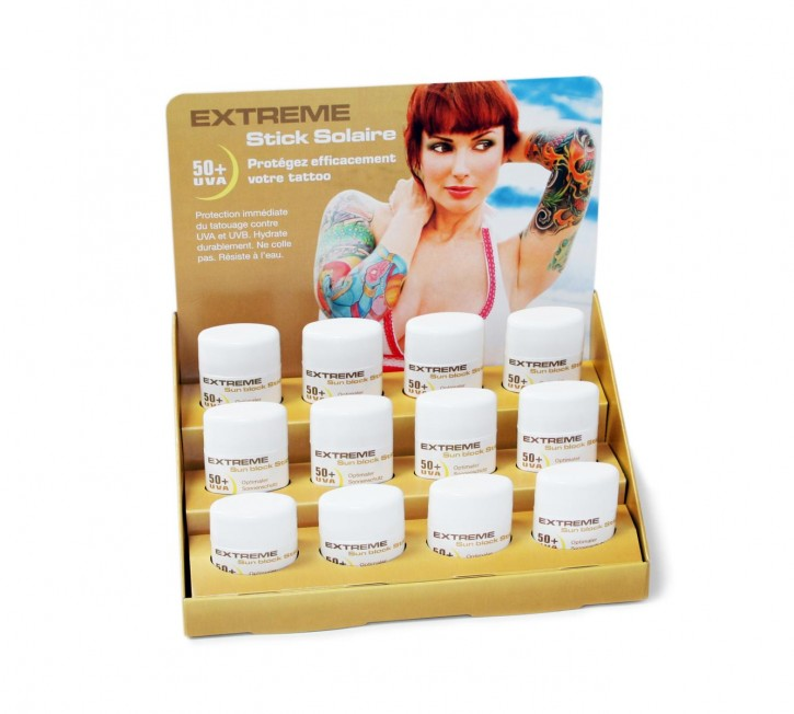 Easytattoo Sunblock Stick Display