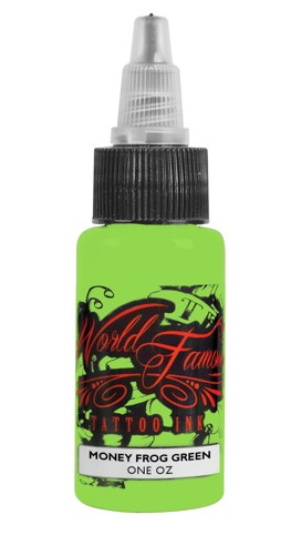 World Famous Ink - Master Mike Money Frog Green 29ml