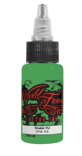 World Famous Ink - Master Mike Guan Yu 29ml