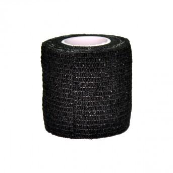Griffschutz Krepp Bandagen breit 5 cm - Schwarz