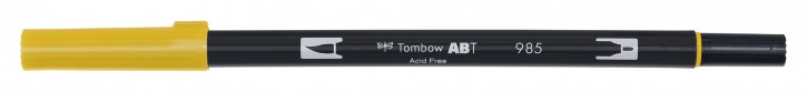 Pinselstifte Tombow Dual Farbe: gelb