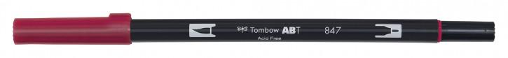 Pinselstifte Tombow Dual Farbe: puprurrot