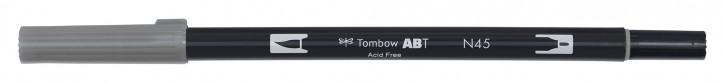 Pinselstifte Tombow Dual Farbe: hellgrau