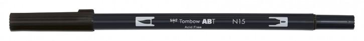 Pinselstifte Tombow Dual Farbe: schwarz