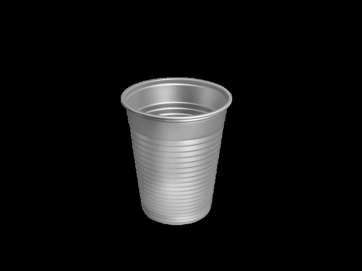 Plastikbecher PP 0.18 L platin