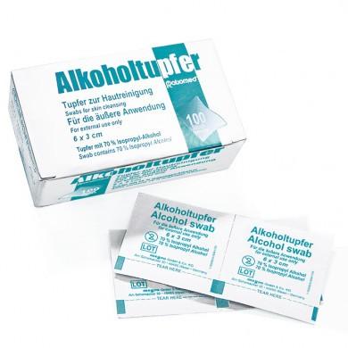 Alkoholtupfer, steril