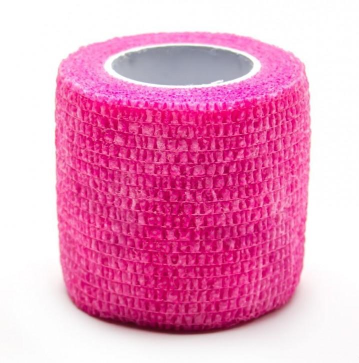Griffschutz Krepp Bandagen breit 5 cm - Pink