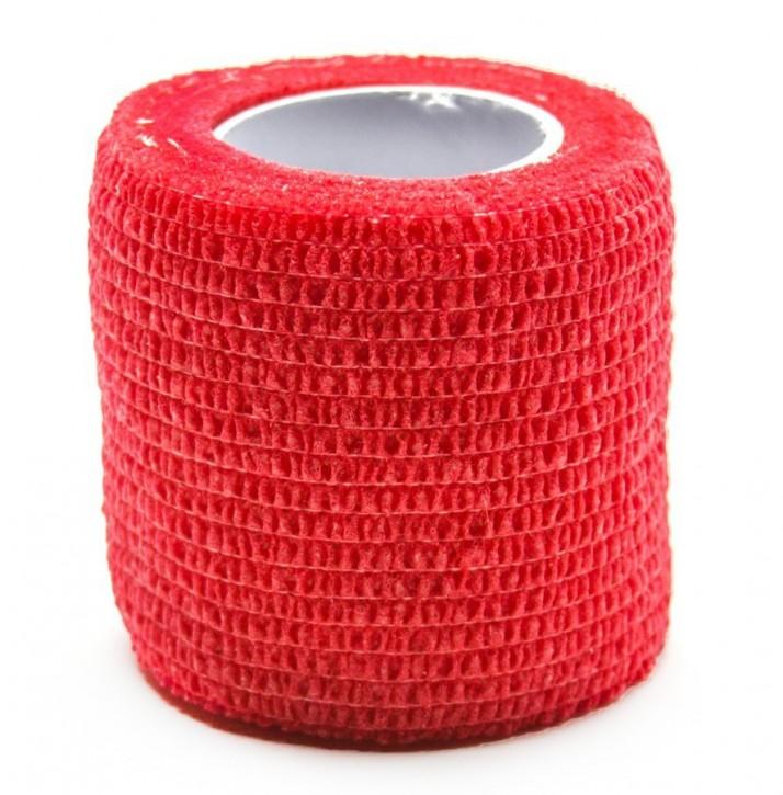 Griffschutz Krepp Bandagen breit 5 cm - Rot