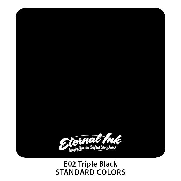 Eternal Ink Triple Black 60ml E02