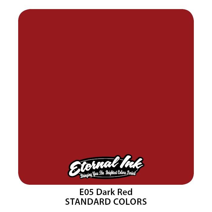 Eternal Ink Dark Red 30ml E05