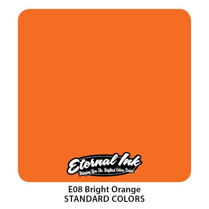 Eternal Ink Bright Orange 30ml E08