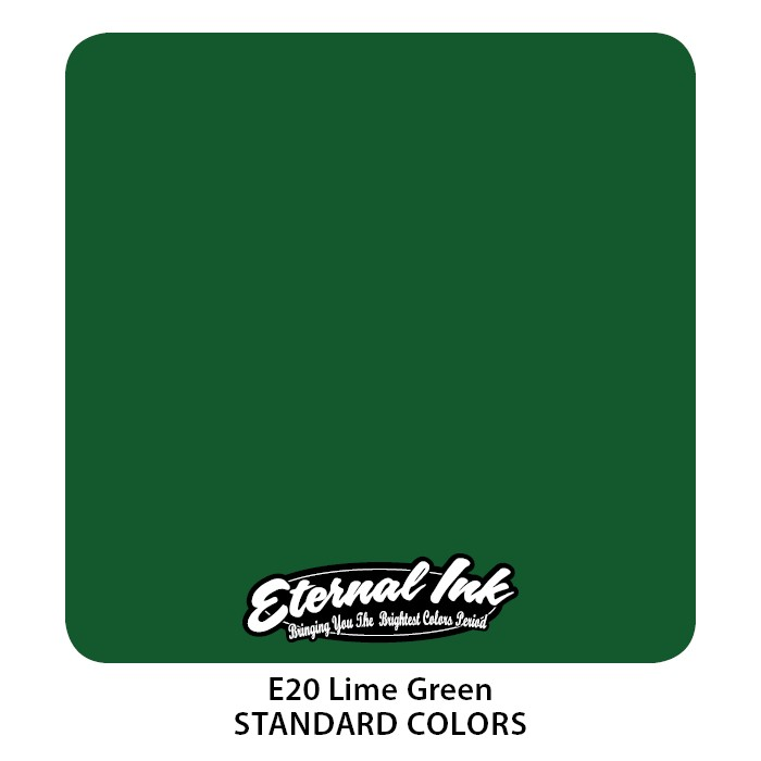 Eternal Ink Lime Green 30ml E20