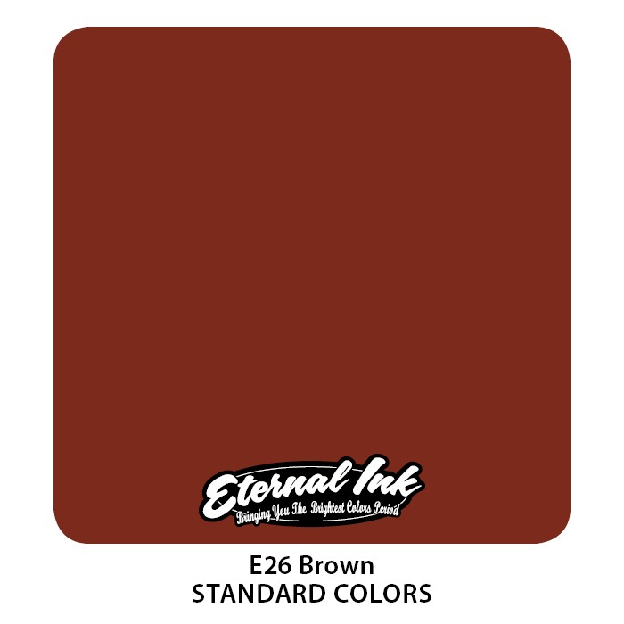 Eternal Ink Brown 30ml E26