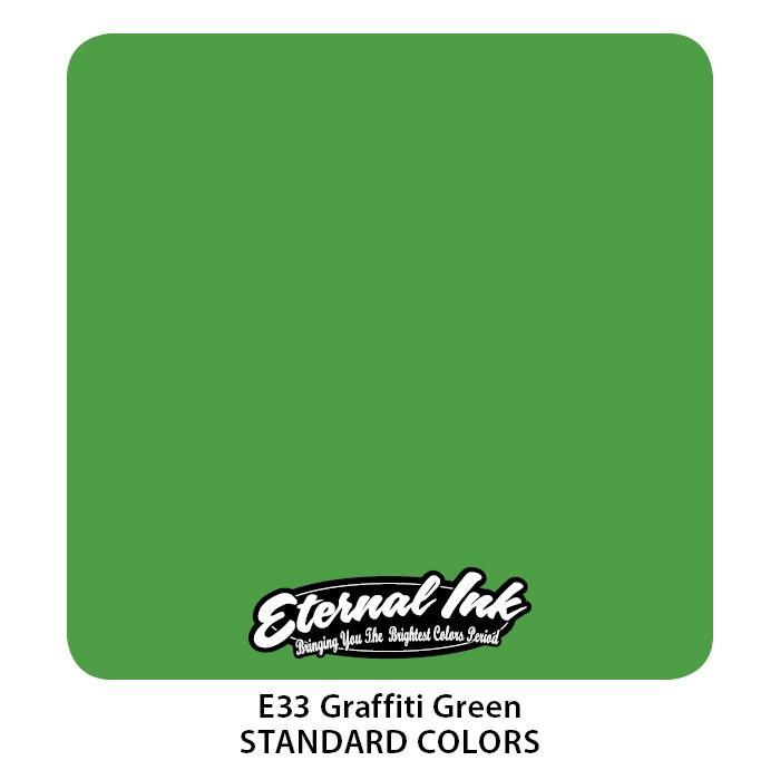 Eternal Ink Graffiti Green 30ml E33