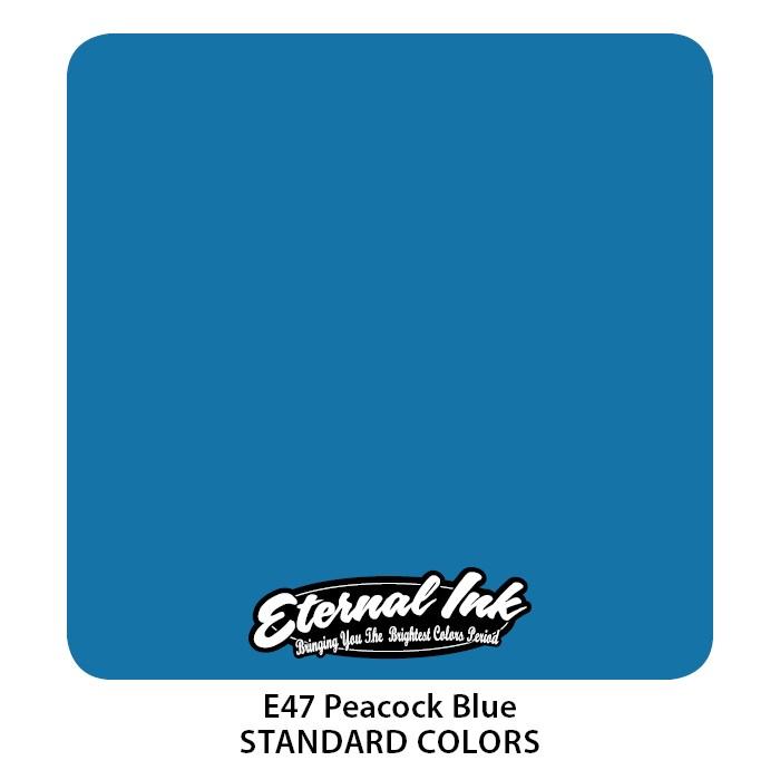 Eternal Ink Peacock Blue 30ml E47
