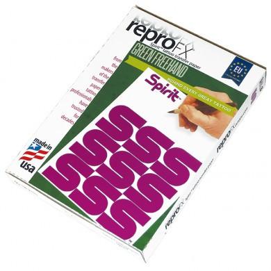 Matritzenpapier 10 Blatt Grün Freehand
