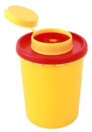 Kanülenabwurfbehälter 2L