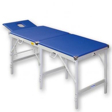 Koffer Massageliege Blau