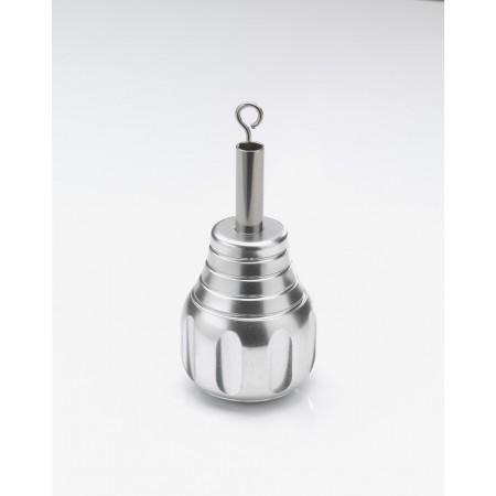 L.Paolini Modulgriff Fat Bob 40mm Silber
