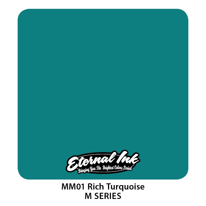 Eternal Ink Rich Turquoise 30ml MM01