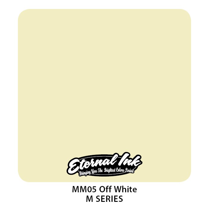 Eternal Ink Off White 30ml MM05
