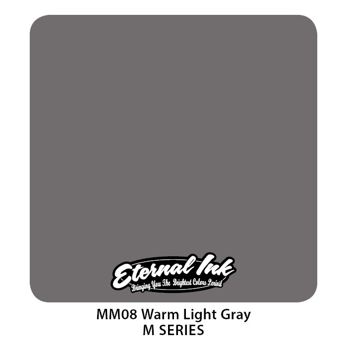 Eternal Ink Warm Light Gray 30ml MM08