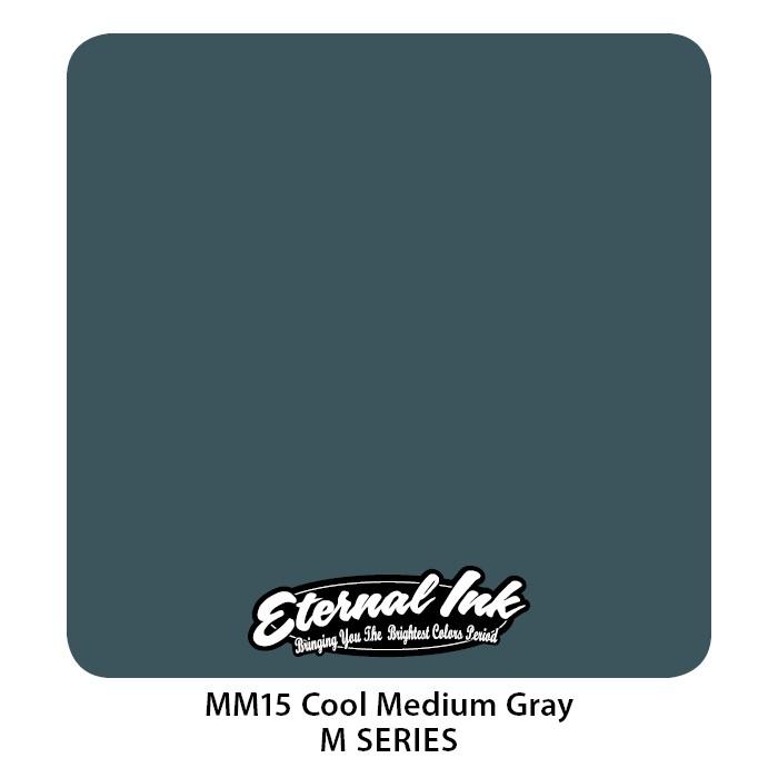 Eternal Ink Cool Medium Gray 30ml MM15