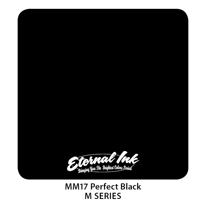Eternal Ink Perfect Black 30ml MM17
