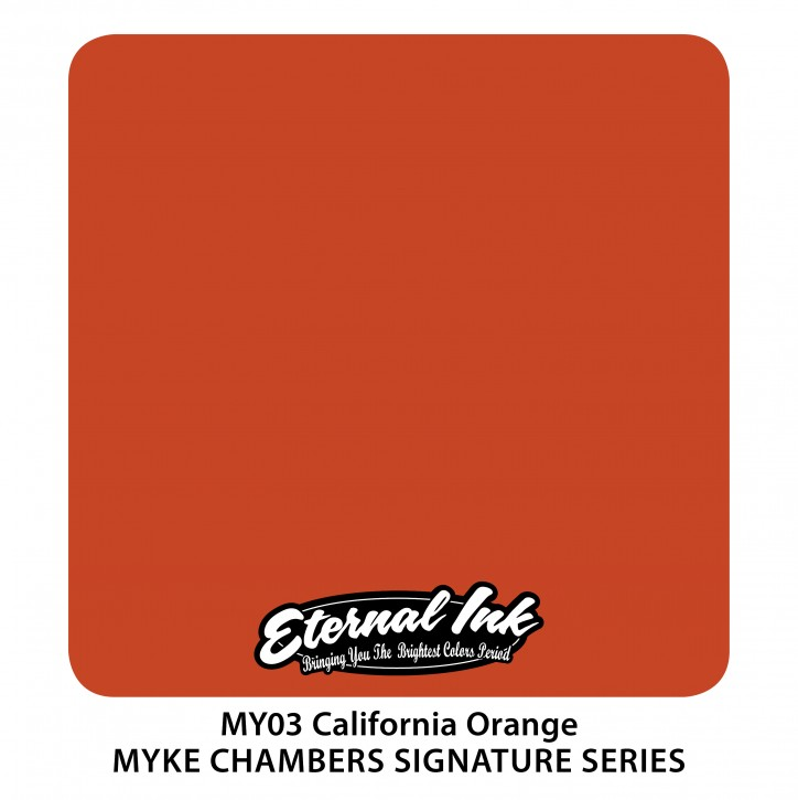 Eternal Ink California Orange 30ml MY03