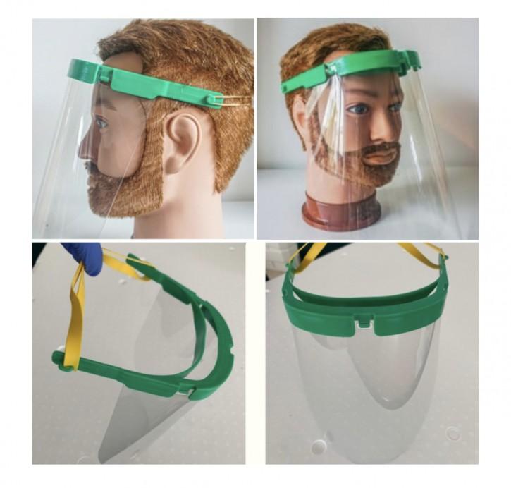 Faceshield Set mit PET Schutzschild