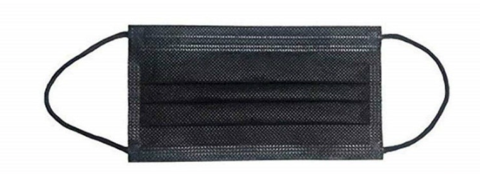 Mundschutz Vlies Black 10er Pack