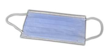 Mundschutz Vlies 50er Pack hellblau