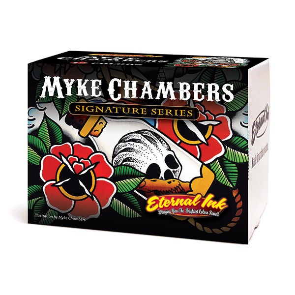 Eternal Ink Myke Chambers Signature Series Set 12 x 30ml